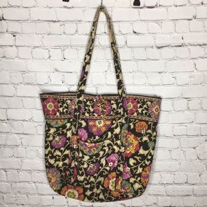 VERA BRADLEY SUZANI floral tote bag